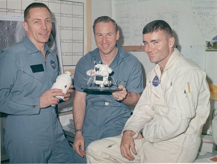 Jack Swigert, James Lovell & Fred Haise