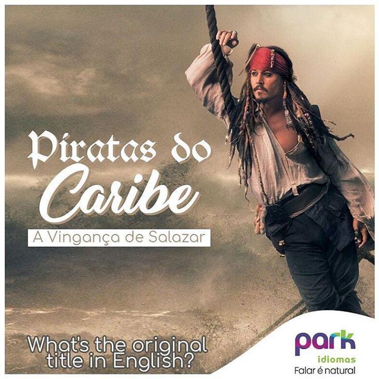 E aí?Ansioso para ver Johnny Depp no papel mais icônico de sua carreira?  E você que sempre nos acompanha,fica a aqui a nossa dica. Após os créditos há uma cena que vai te deixar bem intrigado!  #ParkIdiomas #ParkIdiomasIndependencia #1kfollowers #cinema #PiratasDoCaribe #JackSparrow #CaptainBarbossa #PerolaNegra #johnnydeep #captainjack #penseporque #idiomas #escoladeingles #ingles #english #escuela #aulasdeespanhol #espanhol #fbenevides #parkidiomaspiracicaba #parkidiomaspira #Piracicaba