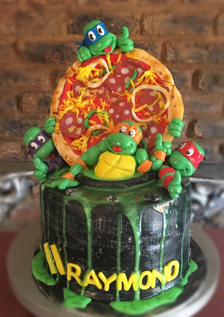 TMNT https://m.facebook.com/Part-of-the-cool-cakes-639328126197615/ #ninjaturtles#turtlescake#ninjaturtlescake#tmntcake#ninjaturtlesparty#teenagemutantninjaturtles