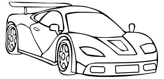 Pin By Abhyudaya Suhasini On Uae Race Car Coloring Pages