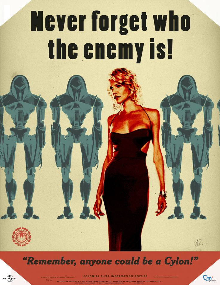 Love this show. Doesn't hurt that the psycho robot lady is attractive