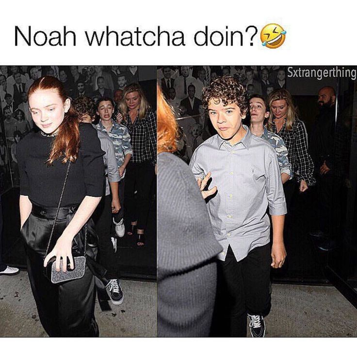 Why does no one pay attention to Noah's face in this