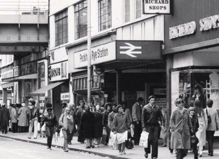 An Old Photo of Rye Lane Peckham South East London England