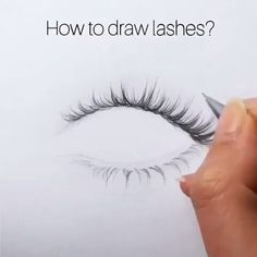 how to draw asian eyelashes