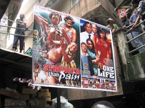 Nollywood Babylon, a rare peek into one of the world's more elusive filmmaking communities. Witchcraft, murder, blackmail & Christian themes dominate the cheaply produced, shot-on-video productions that have become a national obsession, launching Nigeria's capital, Lagos as one of the world's biggest hubs for motion picture production of the 1990s, behind only Hollywood & Bollywood.  Living in Bondage, Millionaires Club, Oga and His Boys, Pleasure Before Business and Women Affair…