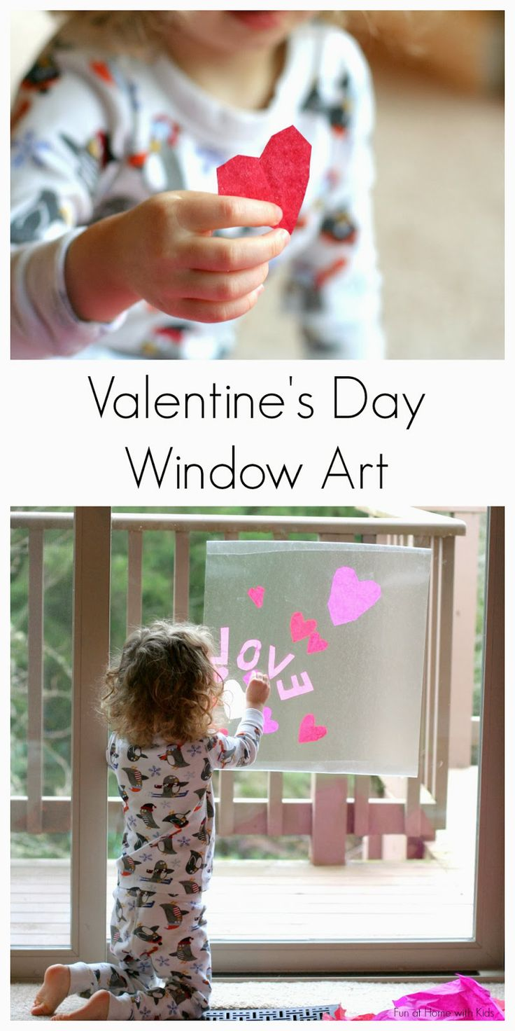 Contact Paper Window Art