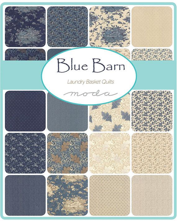 Blue Barn by Laundry Basket Quilts for Moda  by morethanjustquilts