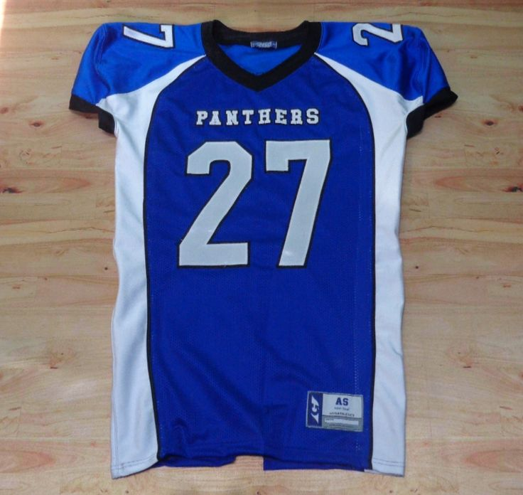 RAWR! Have a look at this custom jersey designed by Panthers Football and created by Garb for Eastbay! http://www.garbathletics.com/blog/panthers-football-custom-jersey-2/ Create your own custom uniform at www.garbathletics.com!