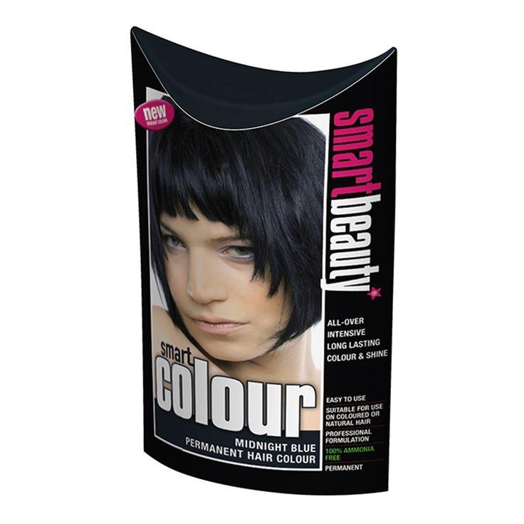Midnight Blue Hair Dye - PPD free hair dye