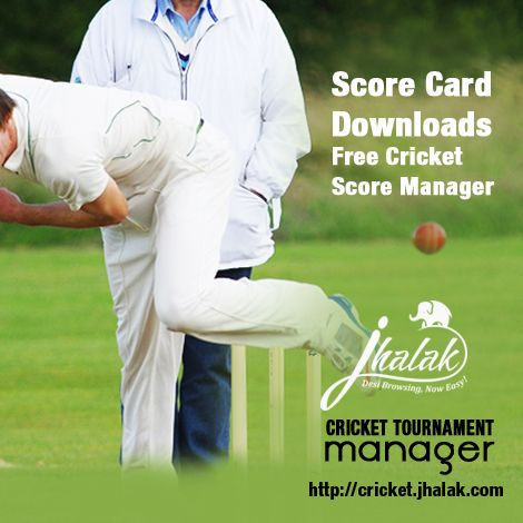 Cricket Scoring Software: Online Cricket Scorer   •Match results Entry page – displays the match list as per calendar  - Recent First •It will give you the power to update and post your live tournament results quickly and easily. Score Entry – First Form: Toss Winner, Toss Decisions, Home _ away •Teams and Players appear automatically – Players according to Team Manager's Finalized Player list Cricket Scoring Software with Cricket Full Score Down loader form user interface called Online