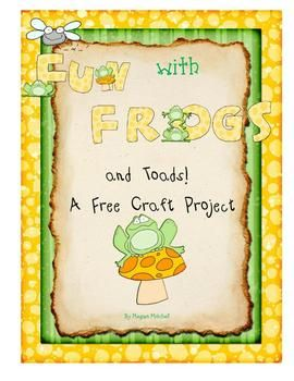 Looking for a fun craft for both frogs and toads