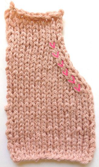 Emily Explains why you use SSK stitches over other decreases.