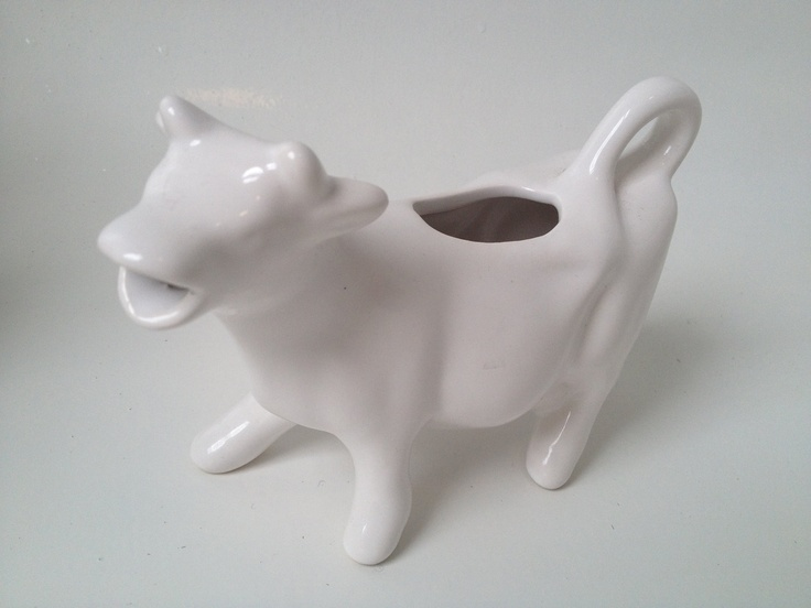 Cow creamer black and white dress