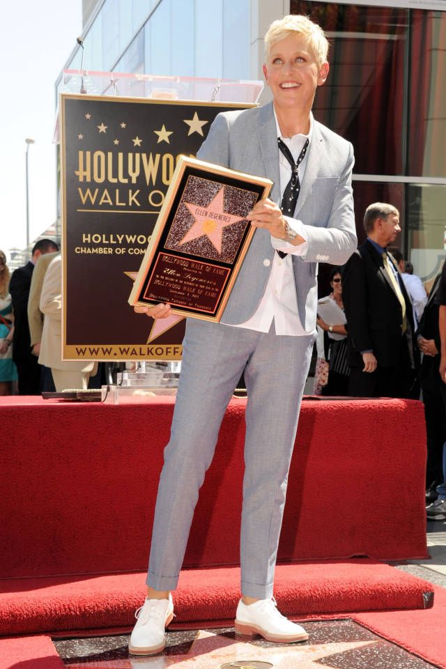 With the Academy Awards quickly approaching, we take a look at Ellen Degeneres' best sartorial moments.