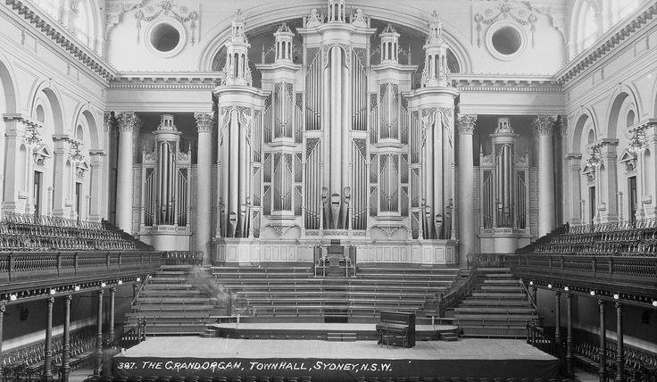 Grand organ, Town Hall, Sydney, between 1928-1932 / Samuel Wood | Flickr - Photo Sharing!