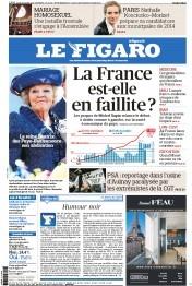 Le Figaro 1/29/2013 - La reine Beatrix des Pays-Bas annonce son abdication