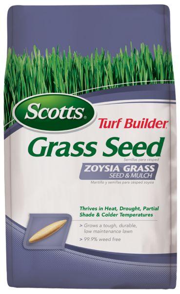 Scotts® Turf Builder® Grass Seed Zoysia Grass Seed & Mulch