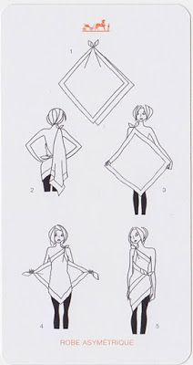 Scarf Folding Techniques: Part II