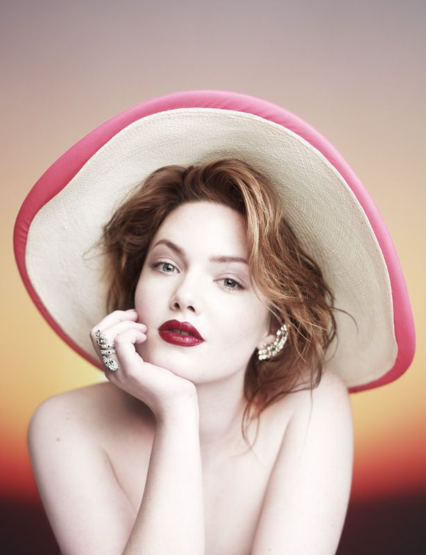 Holliday Grainger Hunger Editorial Portrait Mighty Blighty