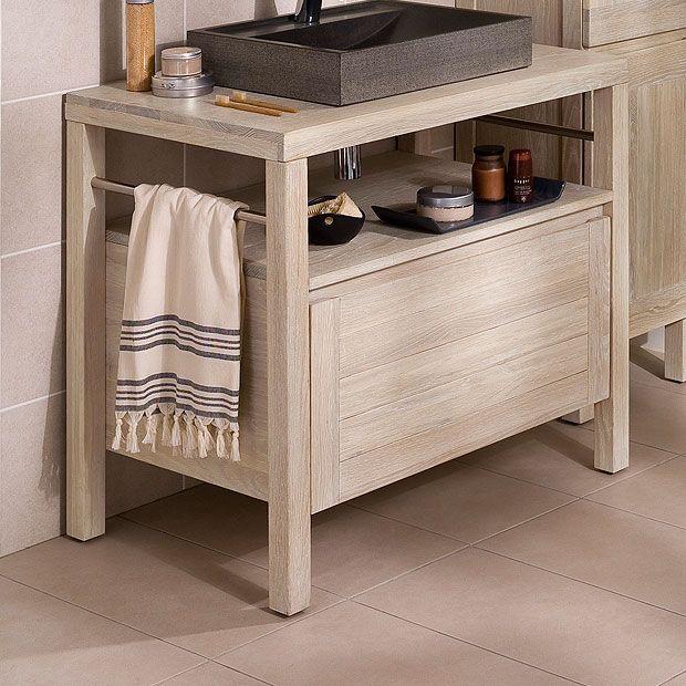 92 best sb rangement miroirs luminaire images on - Meuble vasque salle de bain lapeyre ...