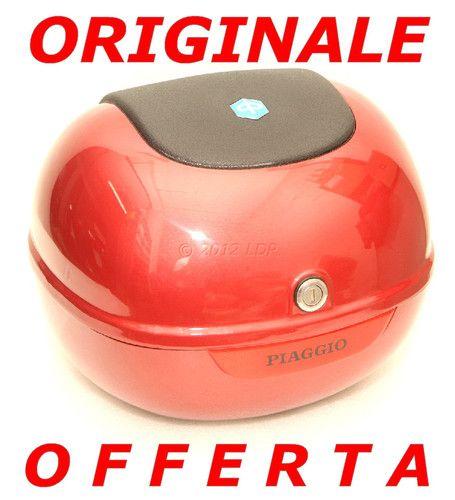 BAULETTO PIAGGIO VESPA ET2, ET4 LIBERTY ORIGINALE NUOVO ROSSO ETRUSCO 4944720020 | eBay, Italy |
