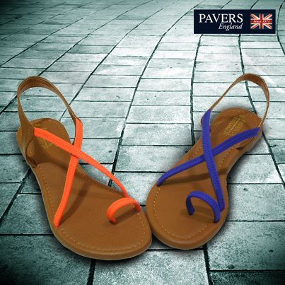 Walk a mile in #style! With these comfortable yet stylish sandals from #PaversEngland.