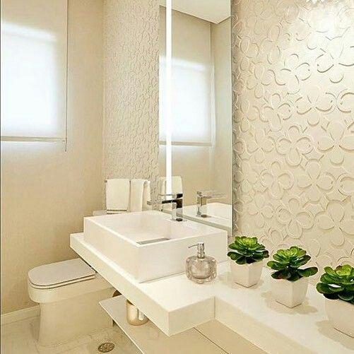 17 melhores imagens sobre Banheiros e lavabos no Pinterest  Banheiros, Madei -> Decoracao De Banheiro Com Pastilhas Pequeno
