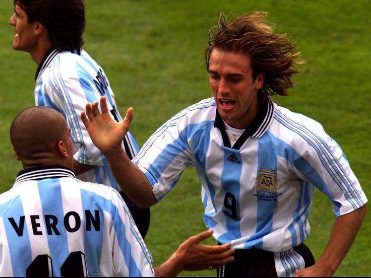 Batistuta, Veron & Ortega - Argentina - 1998 World Cup