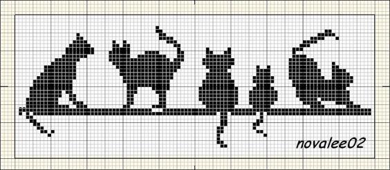 La frise des chats