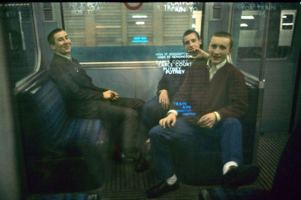 Bob Mazzer: 40 years on the Tube