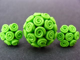 Ring and earrings from polymer clay. http://bijudiart.blogspot.ro/