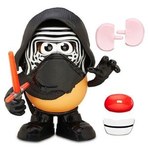 Star Wars Frylo Ren Mr. Potato Head This tater is outfitted for the dark side from iconic black helmet to red lightsaber.