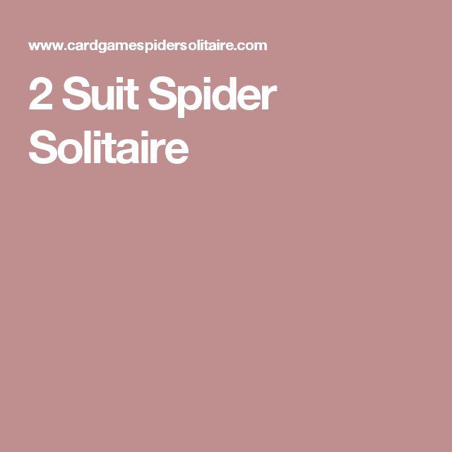 2 Suit Spider Solitaire