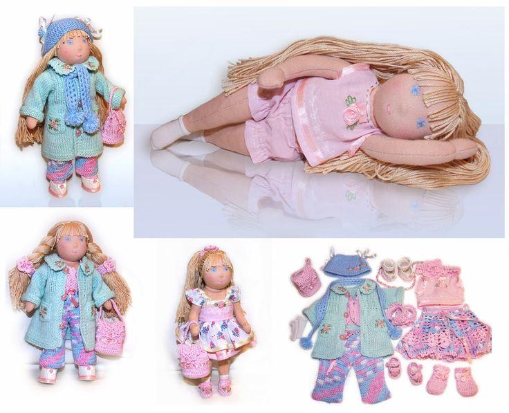 130 mejores ideas en waldorf doll en Pinterest | Muñecos waldorf ...