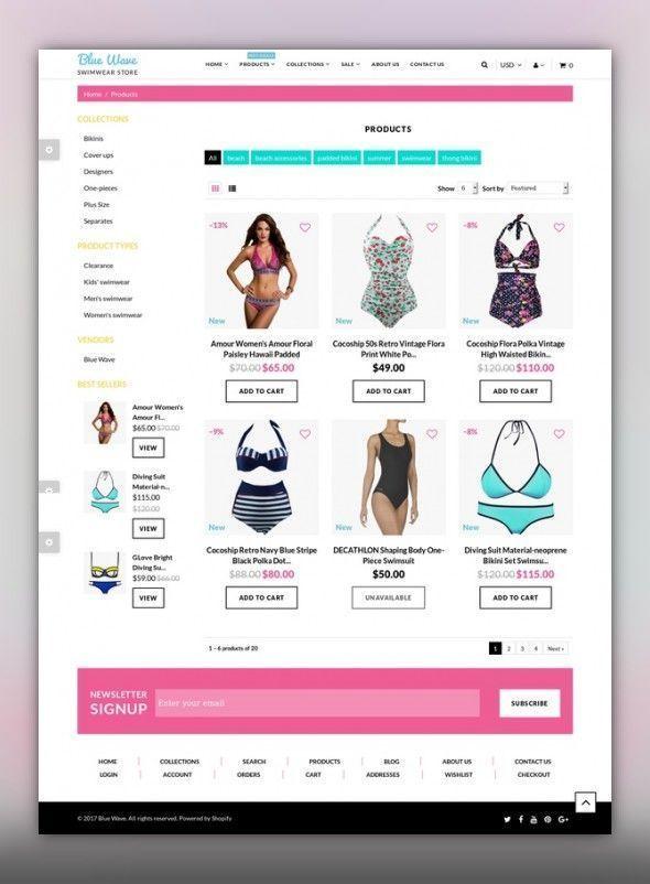 Pin by WordPress Web Designer on Lingerie ecommerce design | Fashion