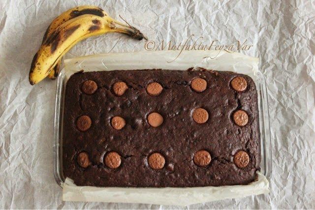 mutfakta Feyza var: Çikolatalı Cevizli Muzlu Brownie