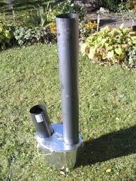 Resultado de imagem para rocket stove de concreto