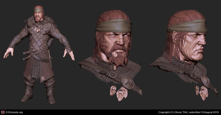 VIKING by Olivier Thill | 3D | CGSociety