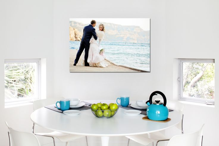 """A Wedding Themed Canvas Print 