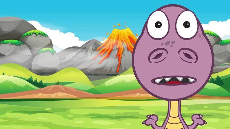 Canción de los dinosaurios. Hace millones de años reinaban la tierra los dinosaurios Reptiles muy grandes y fieros de muchas especies Los dinosaurios Algunos...
