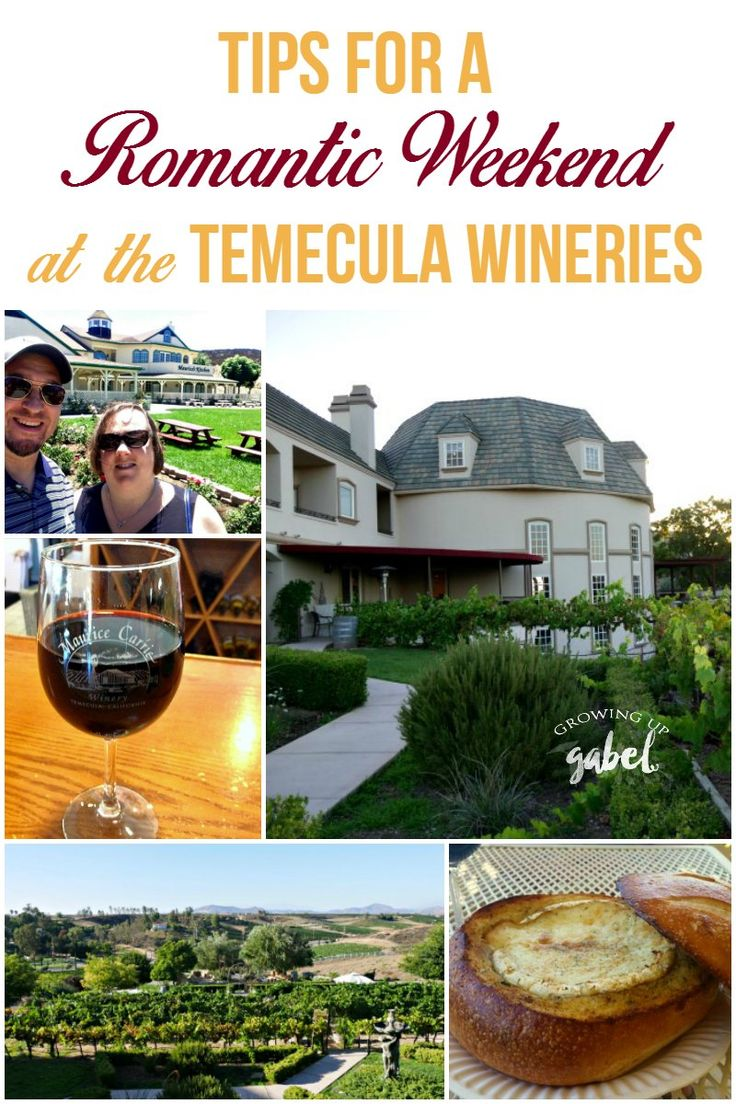 Enjoy a romantic weekend in the Temecula wineries! Check out tips for hotels, restaurants, and things to do for couples visiting Temecula. via @camillegabel