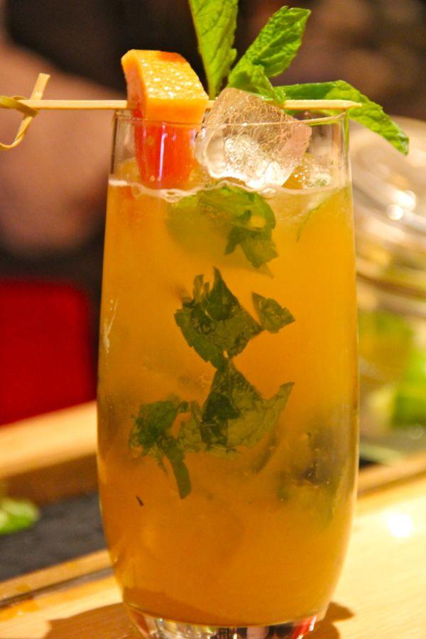 RougeTomate's Amber Palmer Cocktail | Boozehounds | Pinterest