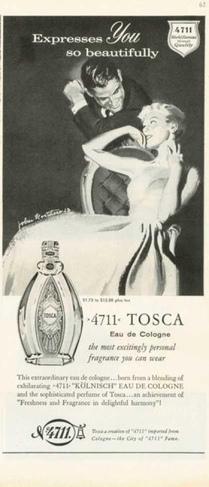 Tosca Eau De Cologne (1959)