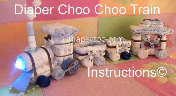 INSTRUCCIONES INSTRUCCIONES pañal Choo Choo por DiaperZooDesigns