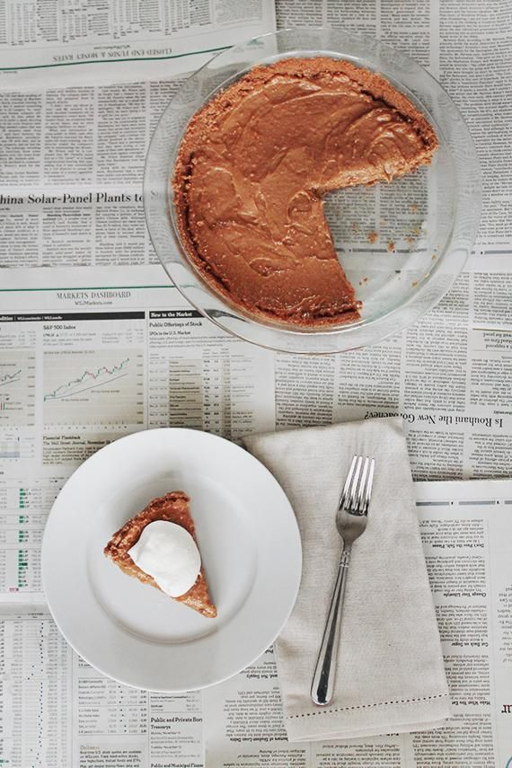 Salted Caramel Pie  Image Via: Almost Makes Perfect
