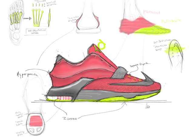Design 7Footwear Produit Dessin ChaussureEt Kd Nike u3cl1FTKJ