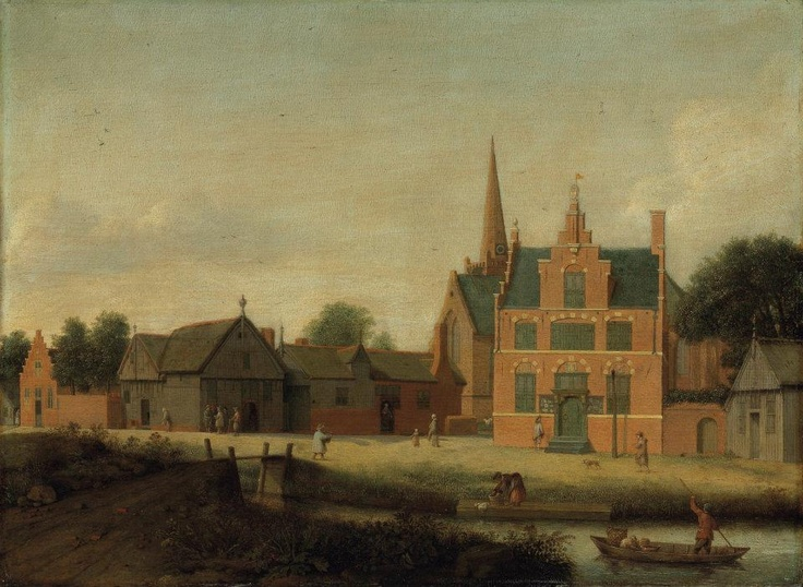 Pieter Jansz. Saenredam (Assendelft 1597-1665 Haarlem), A view of Assendelft. Photo: Christie's Images Ltd., 2012