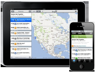 TripIt - Here's a handy way to organize your #trip itinerary. Or do you prefer the old-fashioned way of pen and paper?