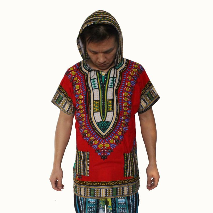 2016 New Fashion Design Traditional African Clothing Print 100% Cotton Dashiki Hoodies women men Dashiki Hoodie