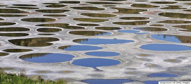 Η λίμνη με τις κηλίδες, Βρετανική Κολομβία, Καναδάς